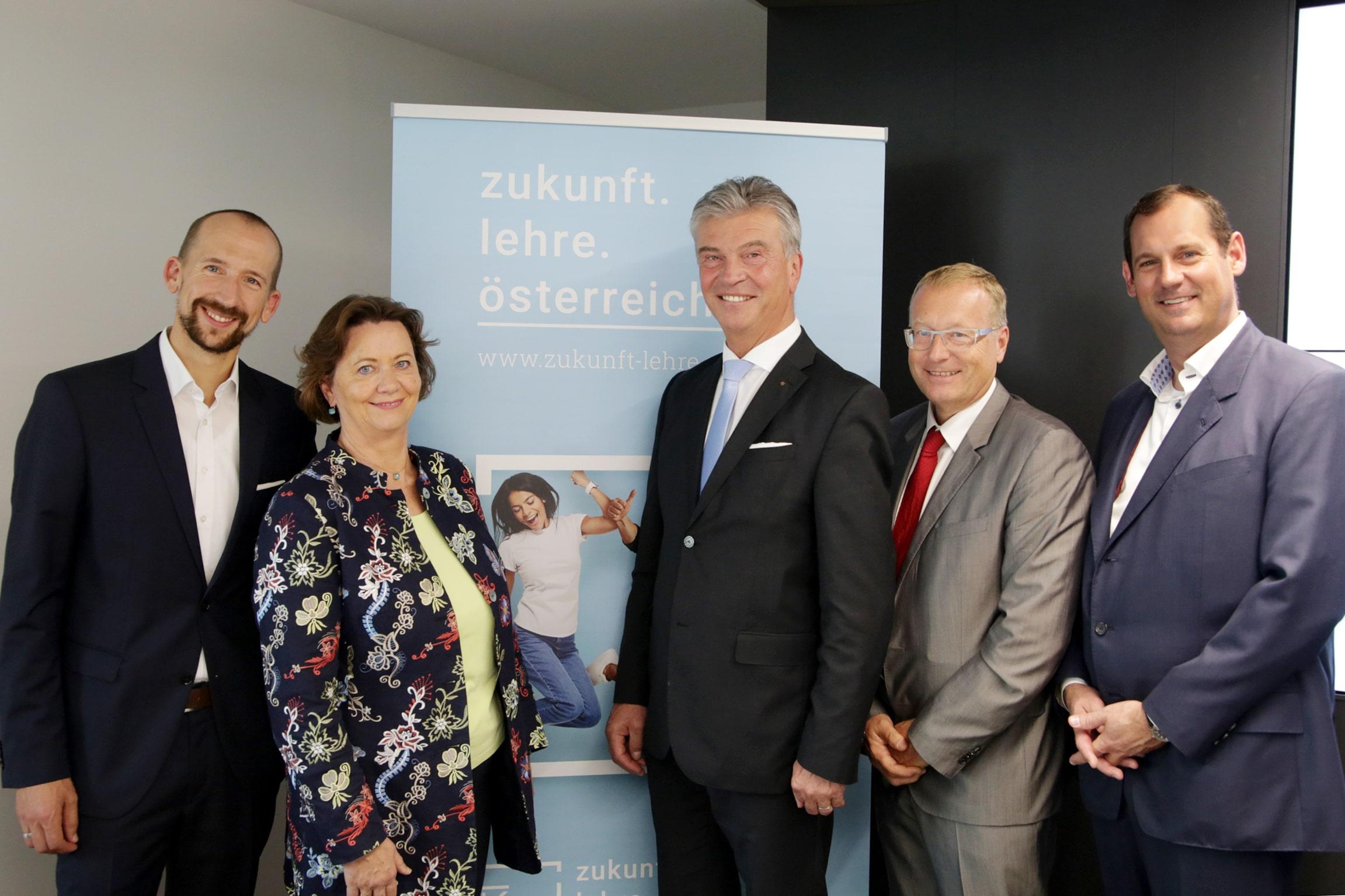 Pressekonferenz zukunft.lehre.österreich. - Eindämmung des drohenden Fachkräftemangels in Österreich