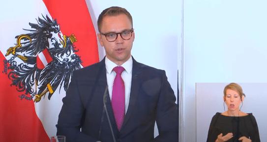 zukunft.lehre.österreich. bei Pressekonferenz mit Bundesministerin Schramböck und Aschbacher